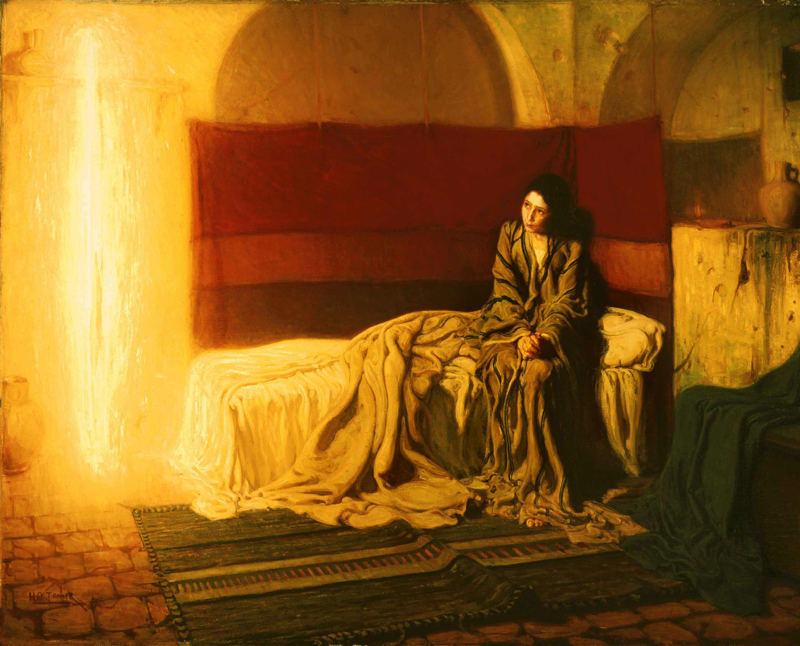 The Annunciation, Henry Ossawa Tanner, 1898