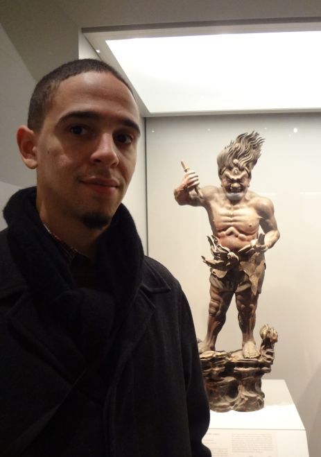 Eric With Japanese Art