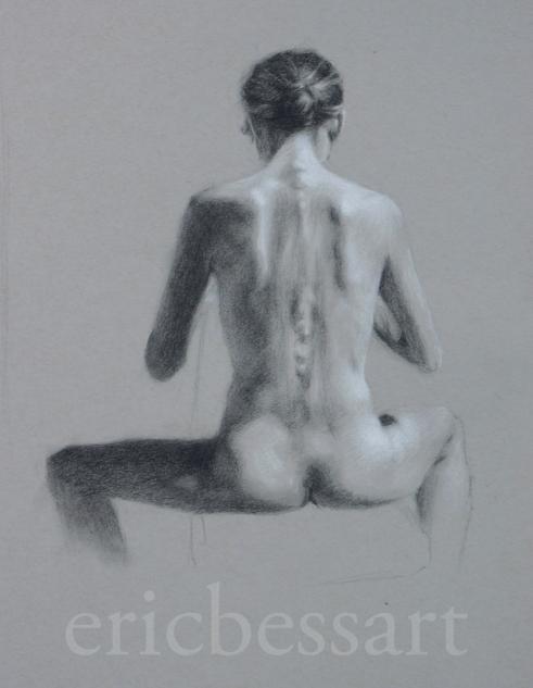 Charcoal/White Chalk14x172013
