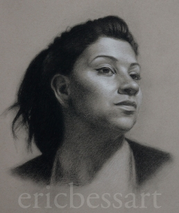 Black and White Chalk 14x17 2013