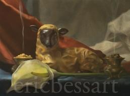Birth of Jesus, Oils, 12x16, 2014