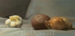 Flavored Potato, Oils, 6x12, 2014